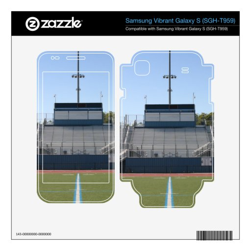 Football Field Fifty Skin For Samsung Vibrant