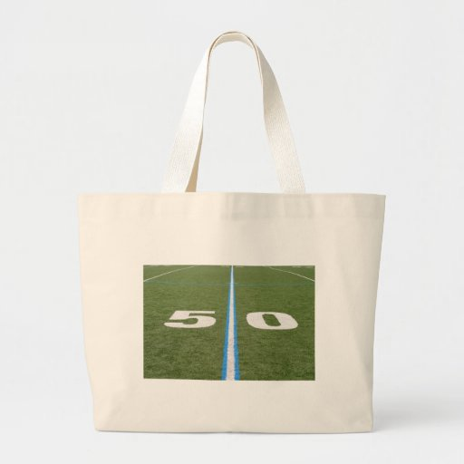 Football Field Fifty Tote Bag