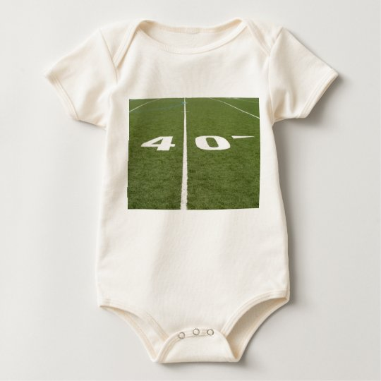 Football Field Forty Baby Bodysuit