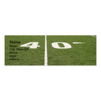 Football Field Forty Business Cards