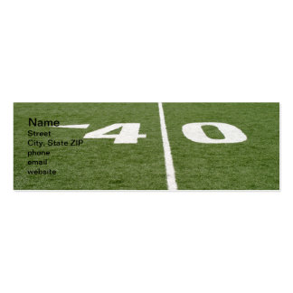 Football Field Forty Business Card