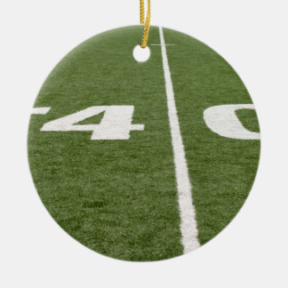 Football Field Forty Christmas Tree Ornaments
