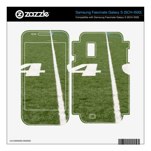 Football Field Forty Samsung Fascinate Decal