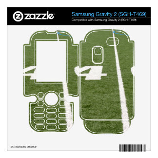 Football Field Forty Samsung Gravity 2 Decal