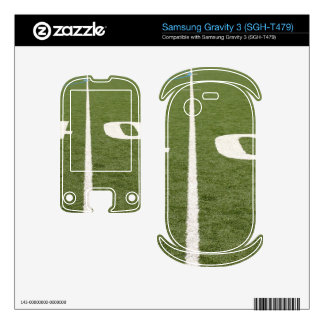 Football Field Forty Samsung Gravity 3 Decal