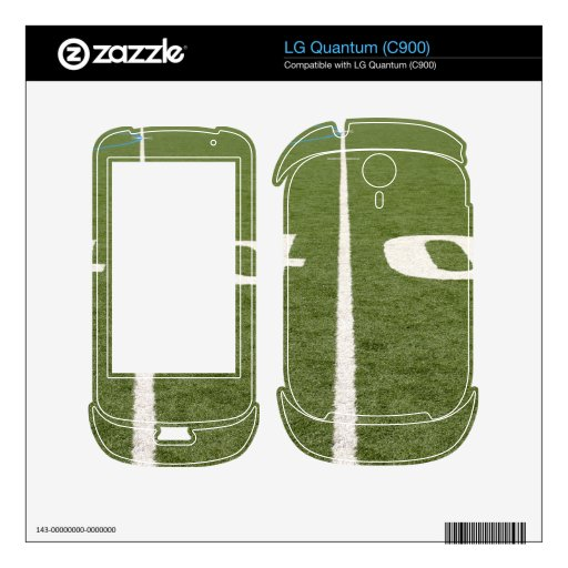 Football Field Forty Decal For LG Quantum