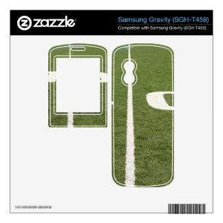 Football Field Forty Skins For Samsung Gravity