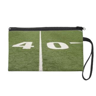Football Field Forty Wristlet