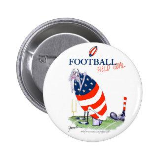 Football field goal, tony fernandes button