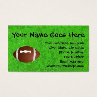 Football Field Junior Varsity Business Card