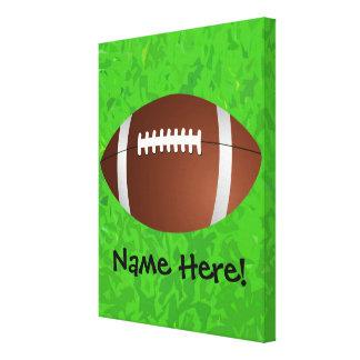 Football Field Junior Varsity Canvas Print
