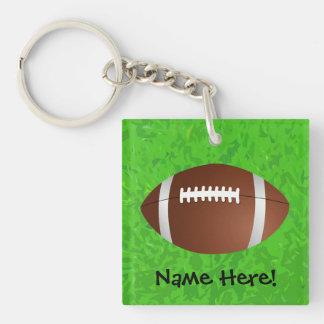 Football Field Junior Varsity Keychain