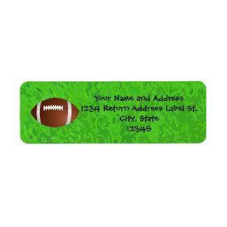 Football Field Junior Varsity Label
