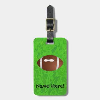 Football Field Junior Varsity Luggage Tag