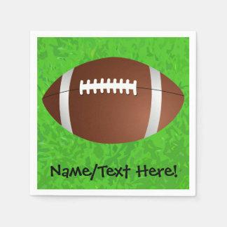 Football Field Junior Varsity Disposable Napkin