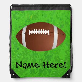 Football Field Junior Varsity Drawstring Backpack