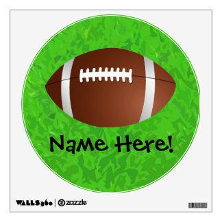Football Field Junior Varsity Wall Graphic