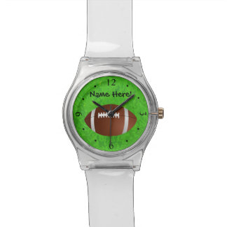 Football Field Junior Varsity Wrist Watch
