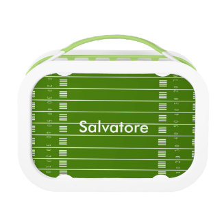 Football Field & Lover Lunch Box