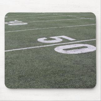 Football Field Markings Mouse Pad