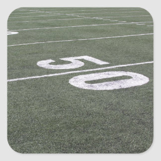Football Field Markings Sticker