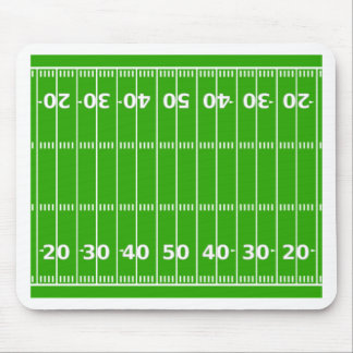 Football Field Mouse Pad