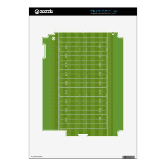 Football Field: Overhead View: Skin For The iPad 2