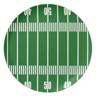 Football Field Plate plate