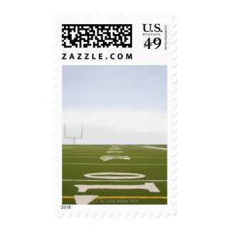 Football Field Postage Stamp