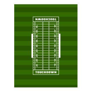 Football Field Postcard