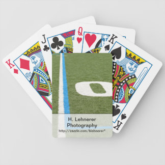 Football Field Ten Bicycle Playing Cards