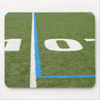 Football Field Ten Mouse Pad