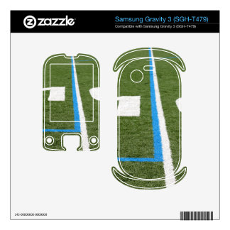 Football Field Ten Samsung Gravity 3 Skins