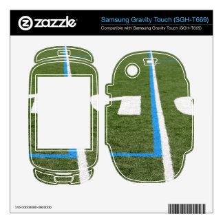 Football Field Ten Samsung Gravity Touch Skins