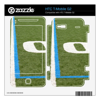 Football Field Ten Decal For HTC T-Mobile G2