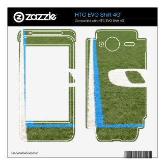Football Field Ten HTC EVO Shift 4G Skins