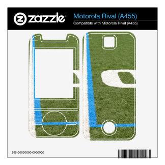 Football Field Ten Motorola Rival Skin