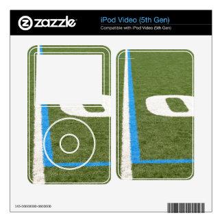 Football Field Ten iPod Video 5G Skins
