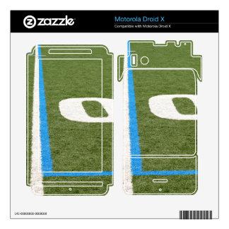 Football Field Ten Motorola Droid X Skin