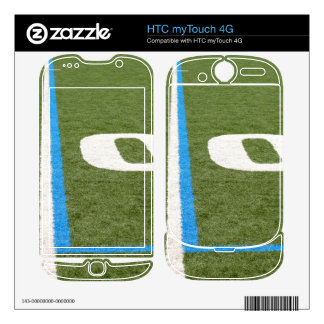 Football Field Ten Decal For HTC myTouch 4G