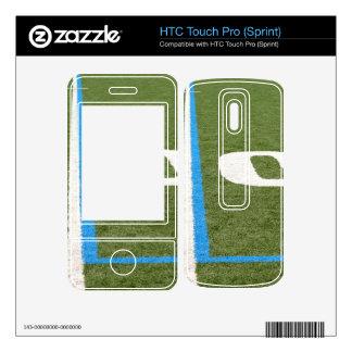 Football Field Ten HTC Touch Pro Skins