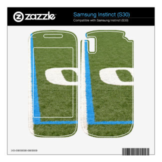 Football Field Ten Samsung Instinct Skin