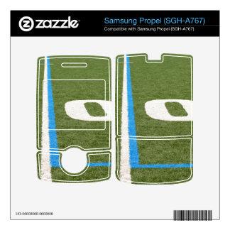 Football Field Ten Samsung Propel Decals