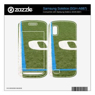 Football Field Ten Skin For Samsung Solstice