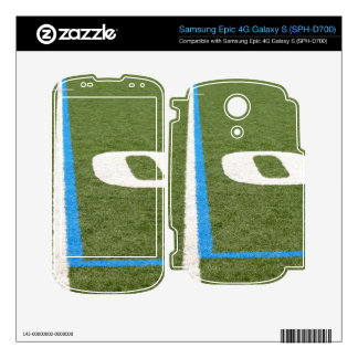 Football Field Ten Decal For Samsung Epic