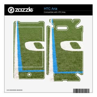 Football Field Ten HTC Aria Decals