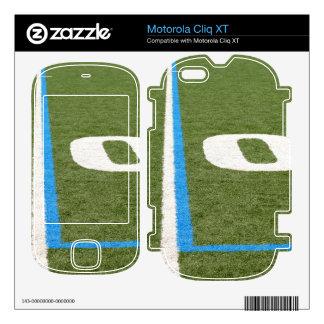 Football Field Ten Motorola Cliq XT Skin