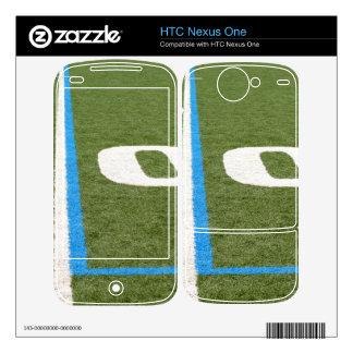Football Field Ten Decals For HTC Nexus One