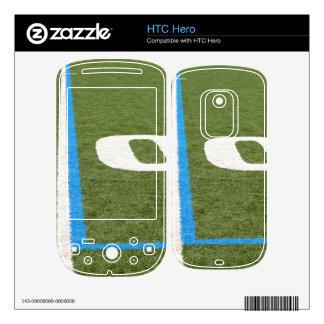 Football Field Ten Decals For The HTC Hero
