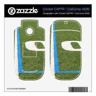 Football Field Ten Decal For Cricket CAPTR